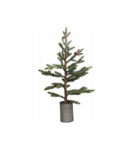 Chic Antique Grantræ m/ kogle i potte H68-20