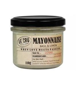Le Cru Mayonaise Basilikum and citron-20