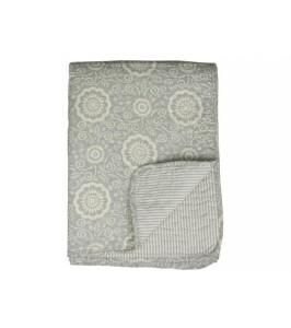 Chic Antique Quiltet tæppe powder 130x180-20