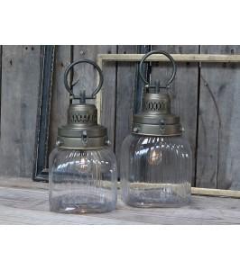 Chic Antique Fransk stald lanterne H29-20