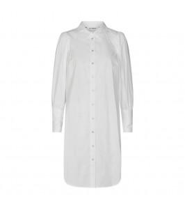 Hvid lang skjorte kjole co couture