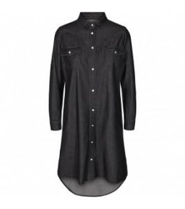 denim skjortekjole co couture