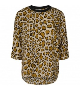 co couture bluse leopard print