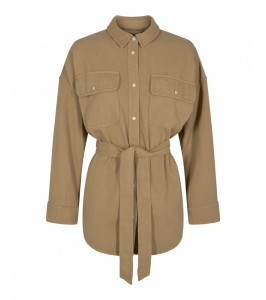 skjorte jakke co couture khaki