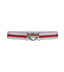 cocouture Metallic Lurex Belt-20