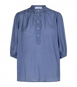 pauline blå bluse co couture