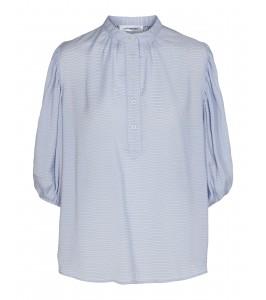 lyseblå bluse pauline co couture