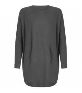 Coster Copenhagen Sweater med lommer Grå