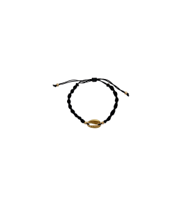 Black colour shell bracelet