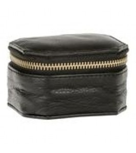 Depeche smykkeboks sort læder