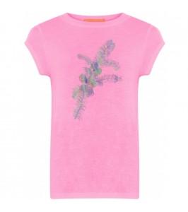 pink t-shirt med print coster copenhagen