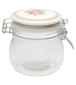 Constance white opbevaringsglas fra GreenGate Spring/Summer 2020