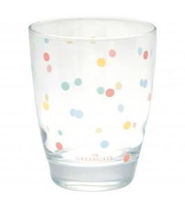 Multi dots vandglas fra GreenGate Spring/Summer 2020