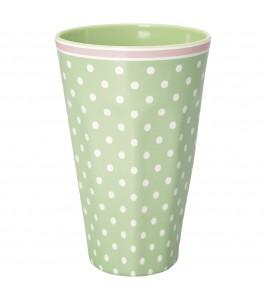 GreenGate Spot pale green melamin kop