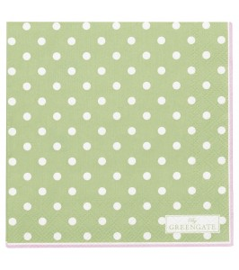 GreenGate serviet Spot pale green