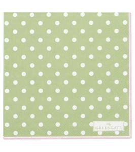 GreenGate serviet Spot pale green