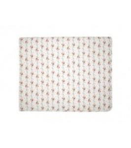 GreenGate Sinja white sengetæppe 100 x 140 cm.