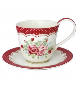 GreenGate Kaffekop Mary white