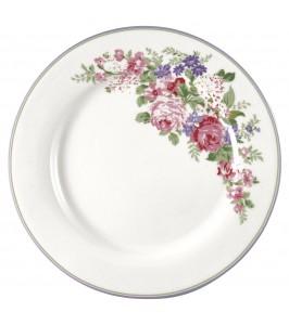 GreenGate Middagstallerken Rose white