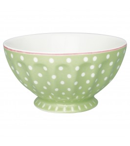 GreenGate French bowl XL Spot pale green-20