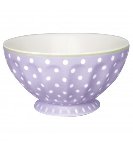 GreenGate French bowl Spot lavendar