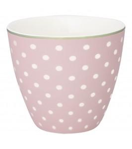 GreenGate lattekop Spot pale pink