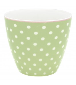GreenGate lattekop Spot pale green