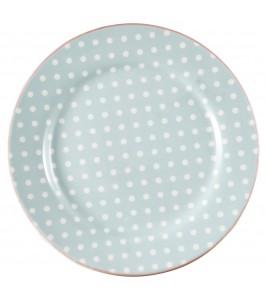 GreenGate tallerken Spot pale blue
