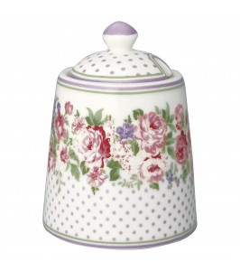 GreenGate sukkerskål Rose white