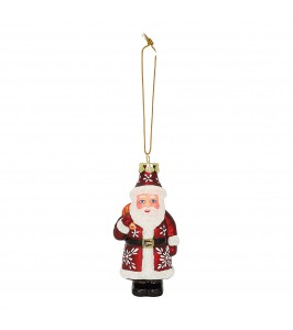 GreenGate Santa Glass red