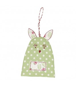GreenGate Æggevarmer Rabbit Spot pale green