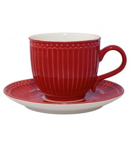GreenGate Kaffekop Alice red-20