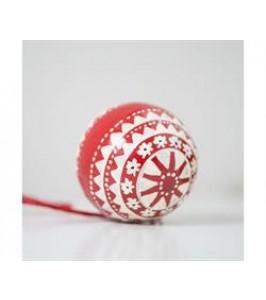 Ib Laursen Julekugle mellem multimønster-20