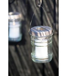 Ib Laursen Glas til fyrfadslys m/ metallåg-20