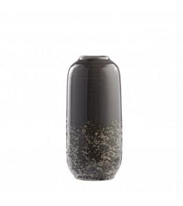 Clary - håndlavet vase fra Lene Bjerre i smoked grey