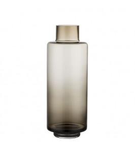 Lene Bjerre Hedria vase i brunt glas
