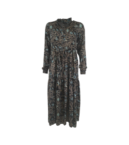 lang maxi kjole sort black colour