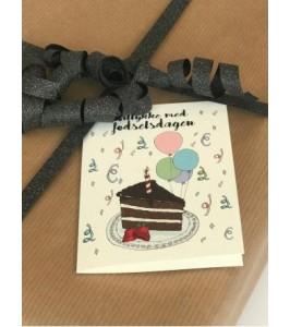 Mouse and Pen fødselsdagskort | Tillykke med fødselsdagen