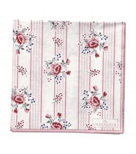 GreenGate Fiona pale pink papirsserviet