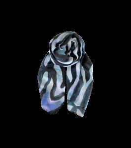 blåt tørklæde black colour