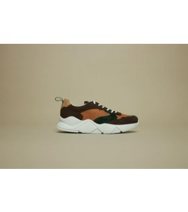 philip hog sneakers ruskind brun