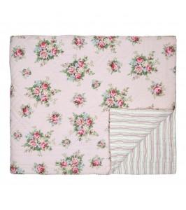 GreenGate Aurelia pale pink sengetæppe fra Winter 2019