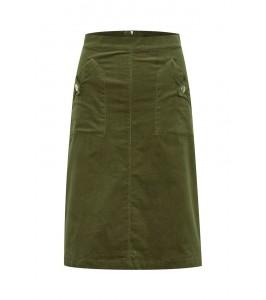 fløjls nederdel army saint tropez