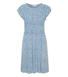 kort kjole blå saint tropez