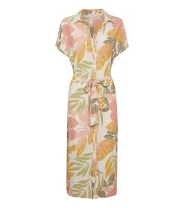 blomstret kjole saint tropez