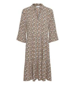 kort blomstret kjole eda saint tropez