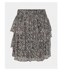 kort nederdel sort og hvid sofie schnoor