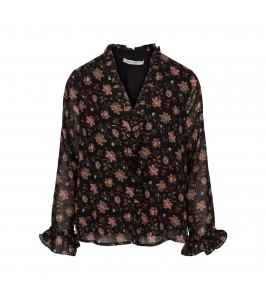 sofie schnoor bluse blomstret