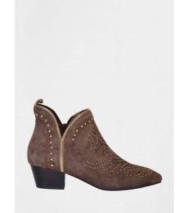 støvle med guldnitter sofie schnoor