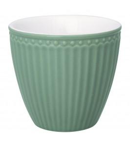 GreenGate Alice dusty green lattekop